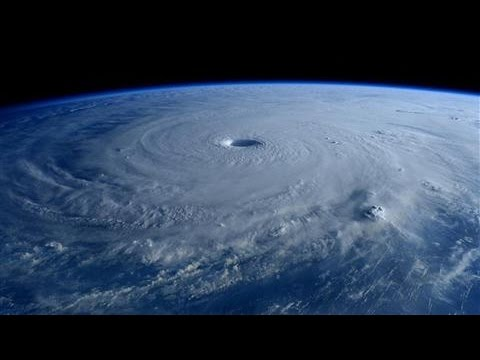 Typhoon Maysak Seen From Space