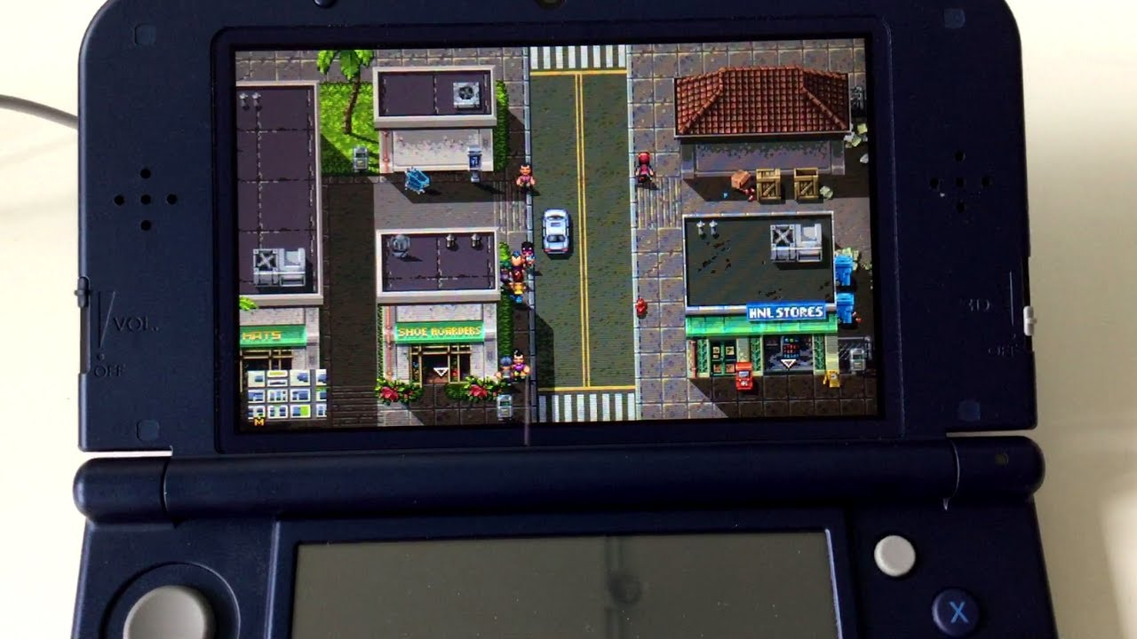 Shakedown: Hawaii | 3DS Zoomed Out Camera Option