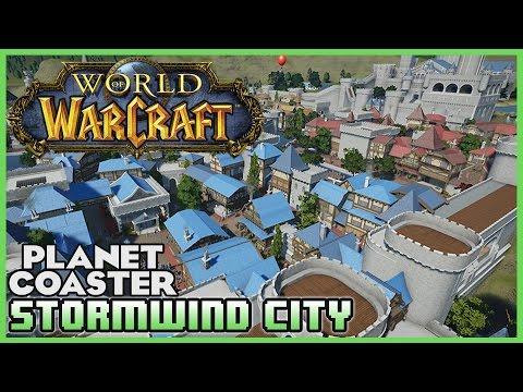STORMWIND CITY! World of Warcraft Park! Park Spotlight 34 #PlanetCoaster