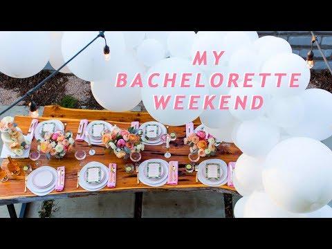 My Bachelorette and Wedding Shower Weekend Getaway!
