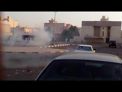 Car race in Kuwait
