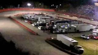 Kingsport Speedway UARA Fairway Ford 150,  3-27-10