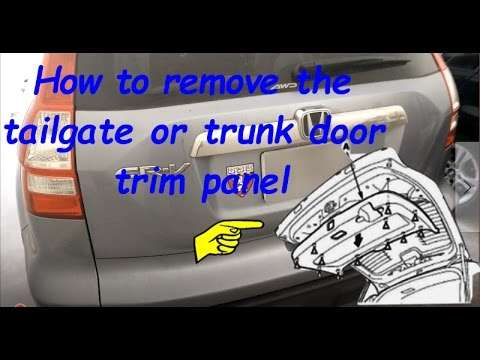 [FPER_4992]  Honda CRV 2007 2008 2009 2010 2011 Tailgate Trim Panel Removal - YouTube | Open Fuse Box Honda Crv 2007 |  | YouTube