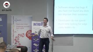 What does it mean to be a test engineer? (Andrey Dzynia, Sweden)