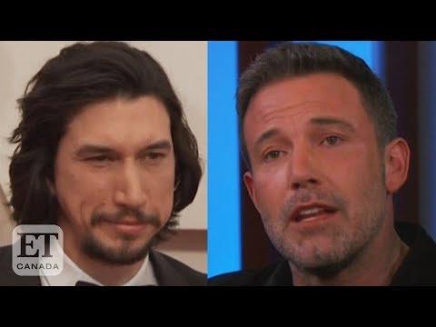 Ben Affleck Gets Emotional Over Adam Driver Saving Son's Birthday