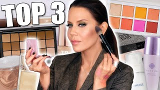 TOP 3 of FACE MAKEUP (every category) ... Drugstore & Luxury