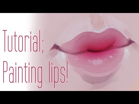 How I Paint Lips (Full tutorial + voice narration!)