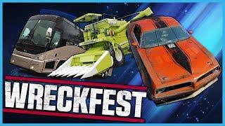 WRECKFEST Tournament! Bus & Harvester Mayhem - Livestream [07/06/2018]
