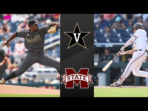 Vanderbilt vs Mississippi State College World Series Winners Bracket | College Baseball Highlights