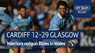 Cardiff Blues vs Glasgow Warriors (12-29) Heineken Champions Cup Highlights