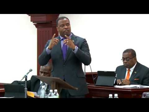 Budget 2017 Presentation of Hon  Mark Brantley, Minister of Foreign Affairs and Aviation