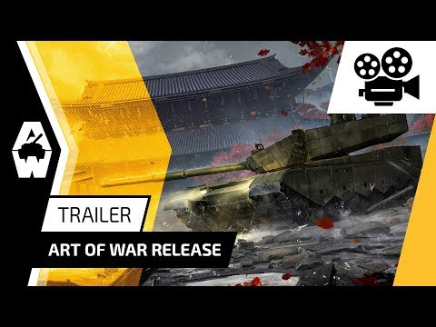 "Armored Warfare - Update 0.22 ""Art of War"" Trailer"