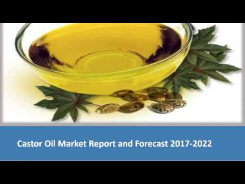 Castor Oil Market Trends, Size, Research | Industry Report 2017-2022