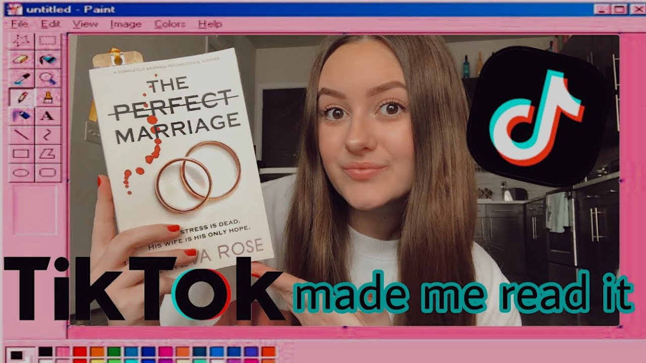 Download tiktok made me read it: a perfect marriage reading vlog
