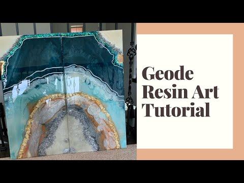 Geode Resin Art