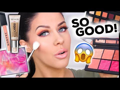 FULL FACE OF FIRST IMPRESSIONS!! NEW FROM NARS, REVLON, MORPHE & MORE!!