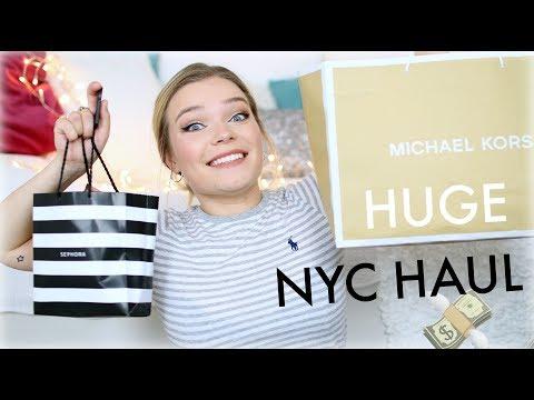 HUGE NYC / USA HAUL ♡ Makeup, Fashion & Candy