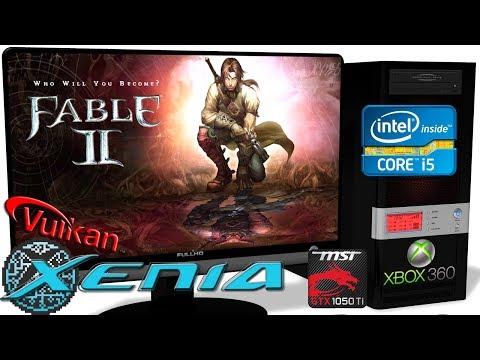 XENIA [Xbox 360 Emulator] - Fable 2 [Gameplay] Xenia-Custom
