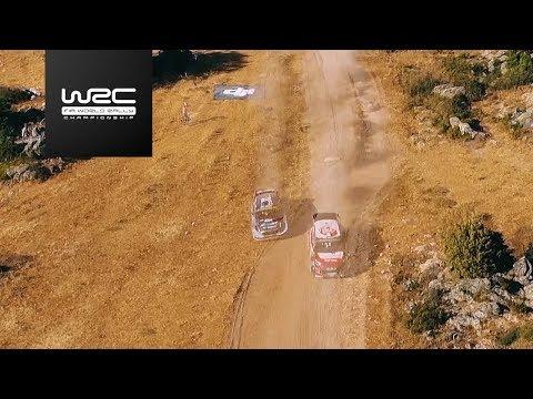 "WRC - Rally Italia Sardegna 2017: Aerial Analysis ""Tänak vs. Breen"""
