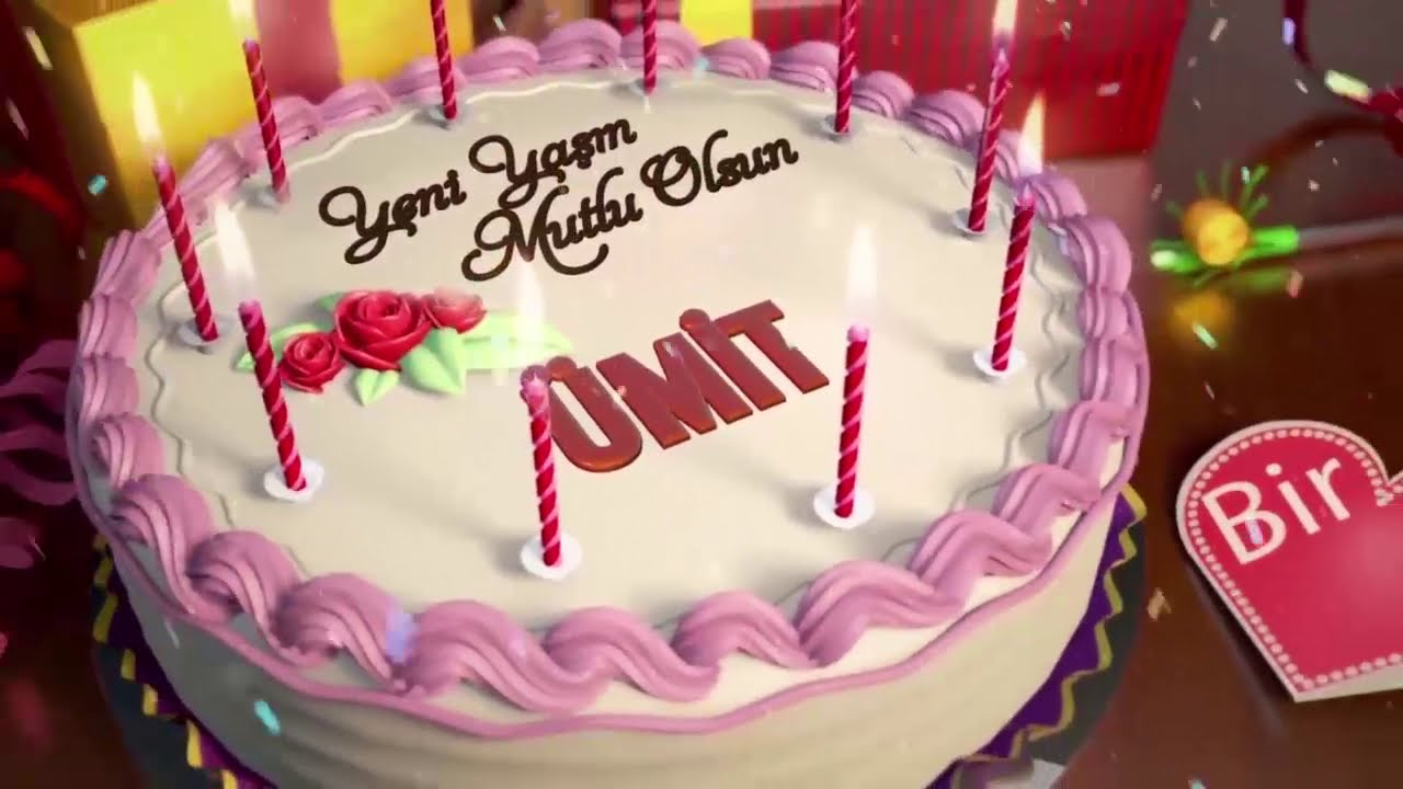 İyi ki doğdun ÜMİT - İsme Özel Doğum Günü Şarkısı