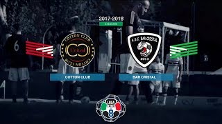 Cotton Club 7-1 Bar Cristal | Serie A - 22ª | Highlights