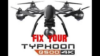 How to stop your Yuneec Q500 4k drone from moving when hovering