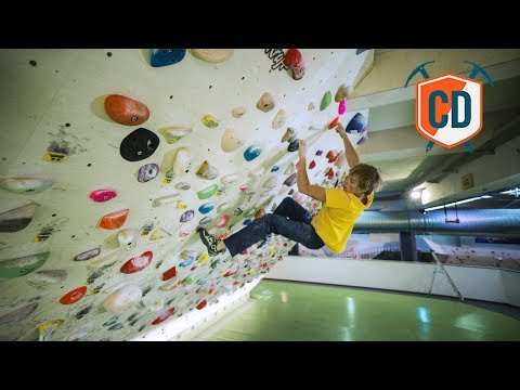 The Biggest 45° Training Board In Europe? | Climbing Daily Ep.1083