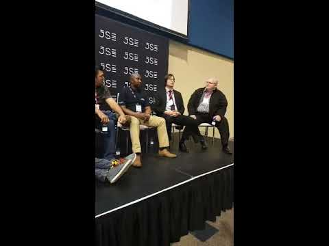 Leaderex 2017 panel discussion moderated by Petri Redelinghuys - Trading for beginners