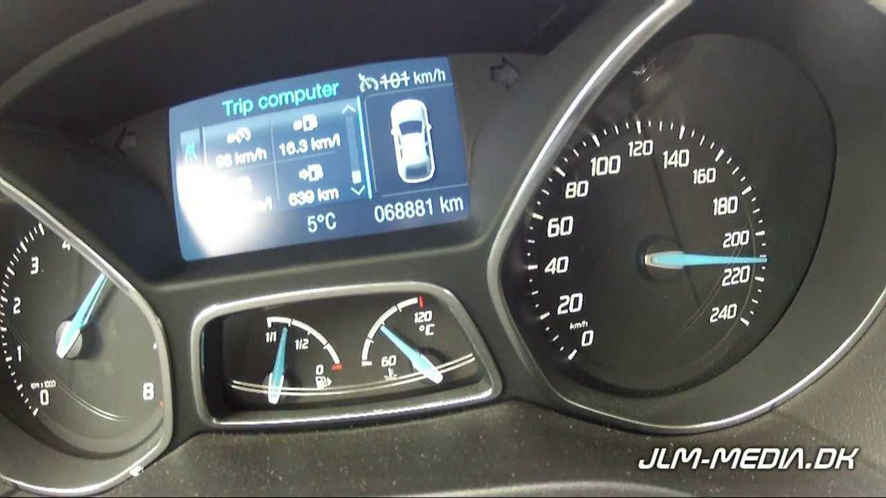 2011 ford focus 1 6 scti ecoboost acceleration 0 214km h