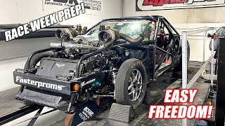 LEROY RETURNS and Makes CLEAN Power on the Dyno!!! Prepping Him For a 1,300 Mile Street Drive!!