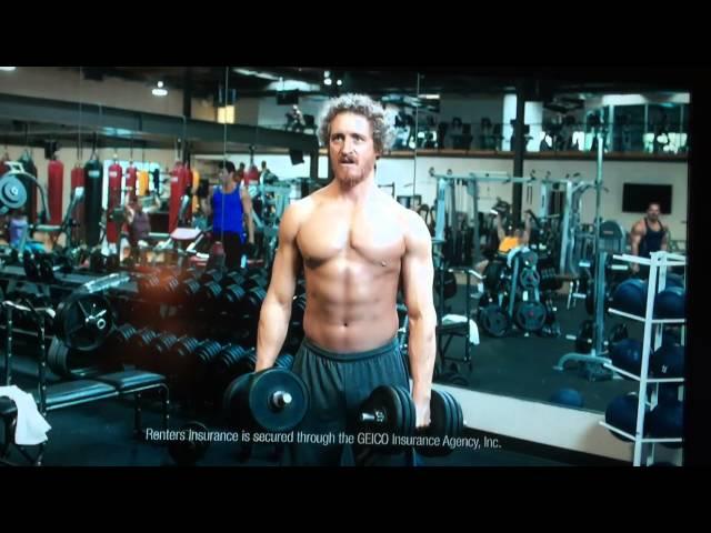 Geico Gym Bro Commercial Youtube