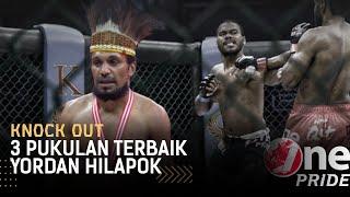 Lawan Kocar-Kacir! 3 Pukulan Berbahaya Yordan Hilapok, Buat Lawan Auto Panik || Best Knock Out MMA