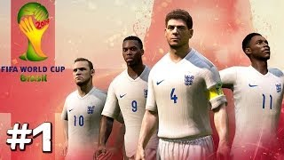 Video FIFA 14 World Cup - England - Part 1 (PS4 Gameplay) download MP3, 3GP, MP4, WEBM, AVI, FLV Desember 2017