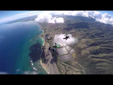 Skydive Hawaii -- GoPro Hero4 Black First Video