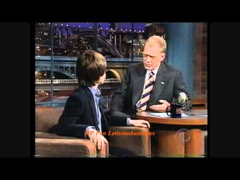 Daniel Radcliffe on Letterman  2001 Sorcerer's Stone   YouTube