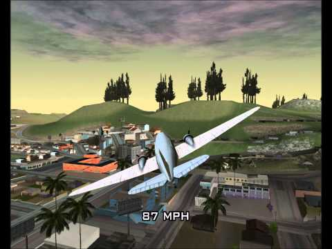 San Andreas Air Force - DC-3 Test Flight