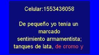 Karaoke Aquellos soldaditos de plomo Victor Heredia