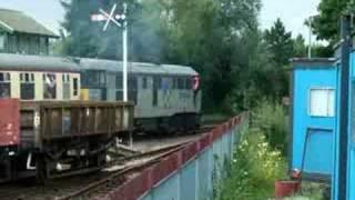Class 31, 31271 Passenger Train On The Nene Valley Railway 17/08/2008