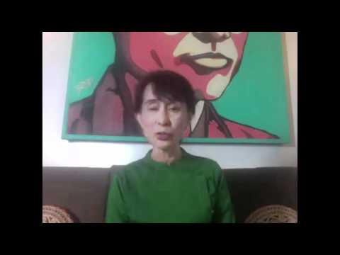 Conversation with Aung San Suu Kyi
