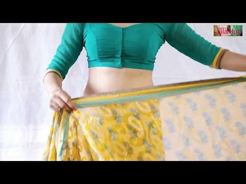 Instantly Learn How To Wear Saree   How To Drape Sari Perfectly   3 मिंट में साड़ी बांधना सीखे