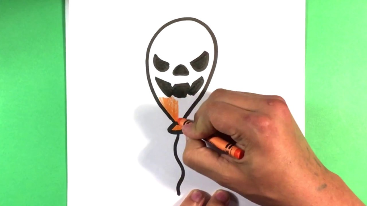 how to draw a balloon