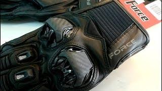 รีวิว ถุงมือ การ์ด Force แบรนด์สเปน รุ่น Sport Black โดย premier moto bkk thailand