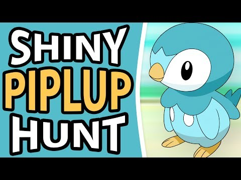 SHINY PIPLUP FULL ODDS STARTER HUNTING | POKEMON DIAMOND AND PEARL