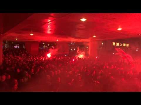 Entrada Ajax Amsterdam Part I (Ajax - Vitesse 18-12-2014)