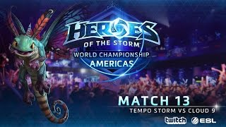 Tempo Storm vs Cloud 9 - World Championship Americas - Match 13 | Final Bracket