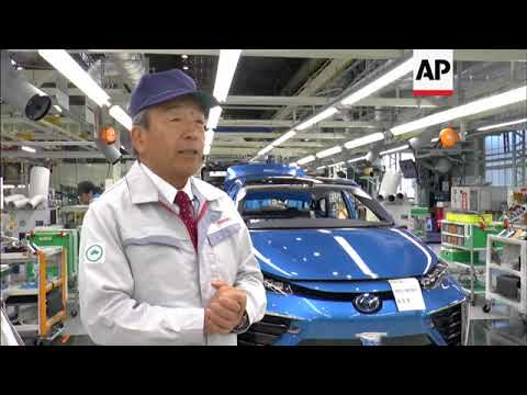 Amid global electric-car buzz, Toyota banks on hydrogen