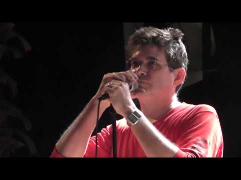 Shellac live in Catania 2015   Steve Albini speaking about Agostino Tilotta