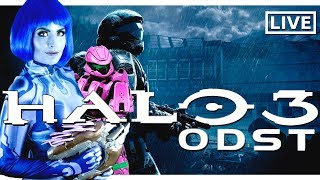 Halo 3 ODST: End of Game and Watching Halo Trailers!