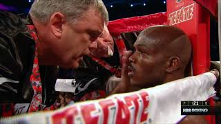 "Teddy Atlas To Timothy Bradley ""WE ARE FIREMEN!"""