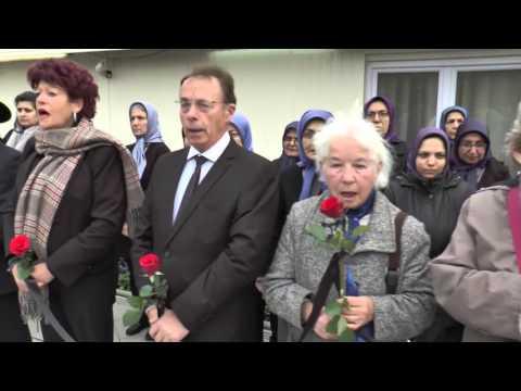 Maryam Radjavi - hommage aux victimes des attaques de Paris